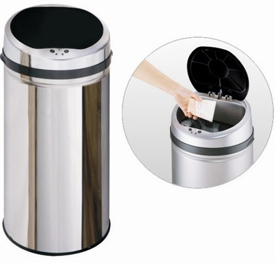Additional image for 42 Litre Stainless Steel Waste Bin.