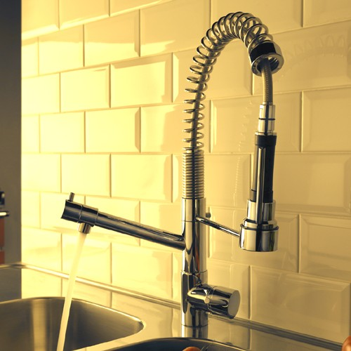 Additional image for Baby Chef Professional Kitchen Tap With Flexible Spray.