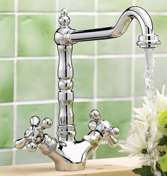 Additional image for French Classic Kitchen Tap (Chrome).
