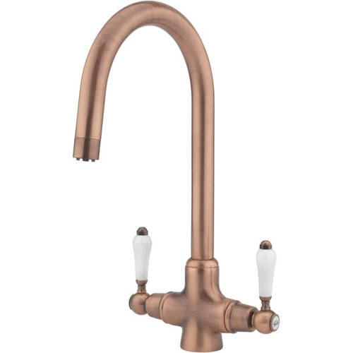 Additional image for Little Venice Kitchen Tap With Swivel Spout (Copper).