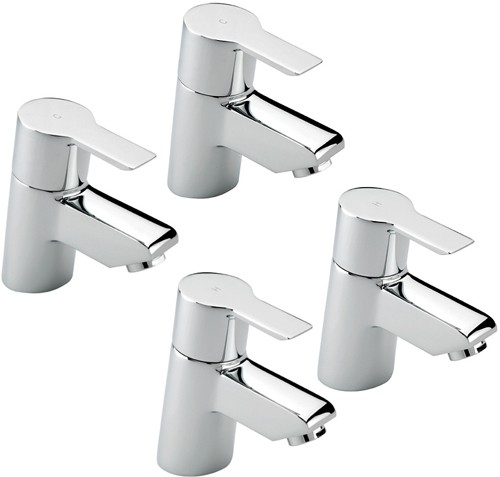 Additional image for Bath & Basin Taps Set (Chrome).