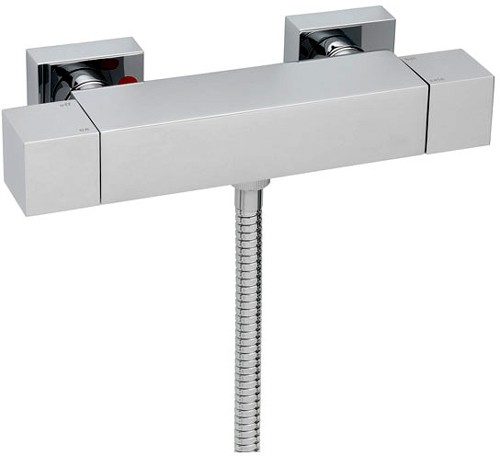 Additional image for Thermostatic Bar Shower Valve (Chrome).