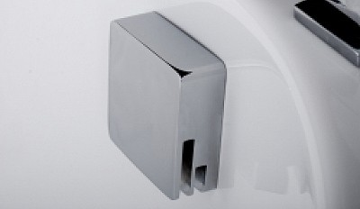 Additional image for Twin Thermostatic Shower Valve With Slide Rail & Bath Filler.