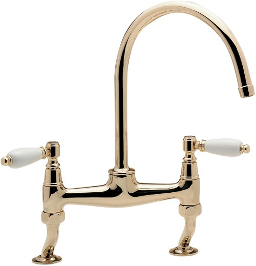 Additional image for Series 900 Dual Flow Kitchen Tap (Gold).