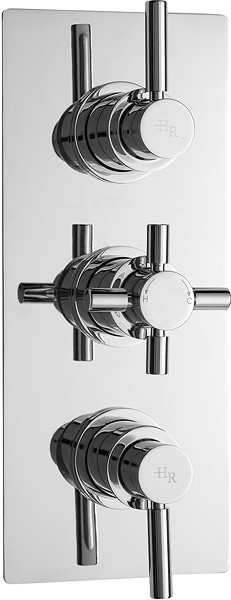 Additional image for Pura Plus triple concealed thermostatic shower valve