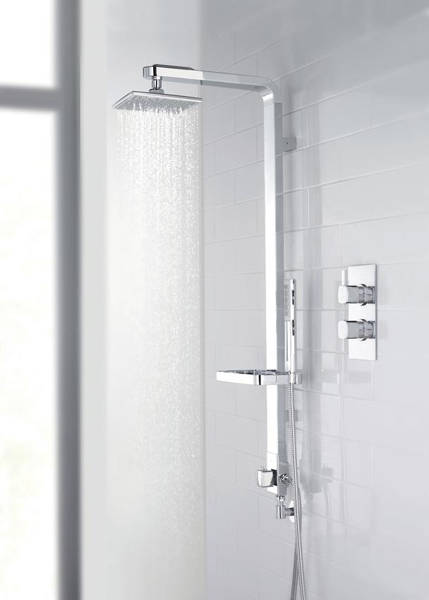 Additional image for Intuition Shower Kit With Diverter (Chrome).