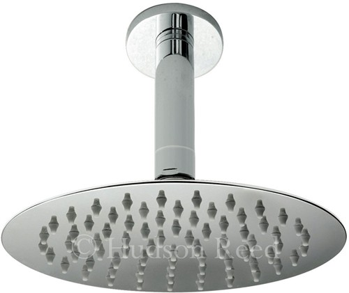 Additional image for Ultra Thin Round Shower Head & Ceiling Arm. 200mm.