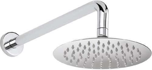 Additional image for Round Shower Head With Arm (200mm).