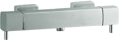 Additional image for Thermostatic Bar Shower Valve & Kubix Slide Rail Set.