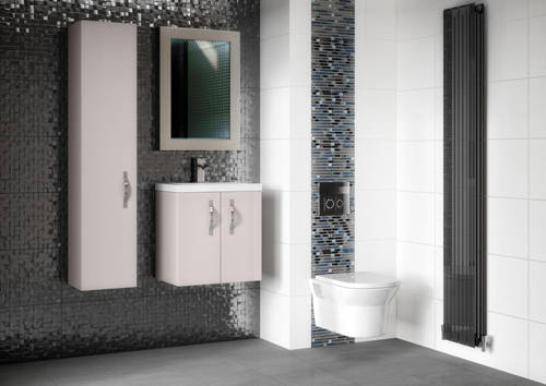 Additional image for Wall Vanity 600mm, Basin & WC Unit 600mm (Cashmere).