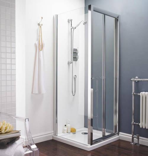 Additional image for Bi-Fold Shower Door (700mm).