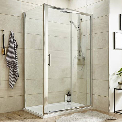 Additional image for Shower Enclosure With Sliding Door (1000x1000).