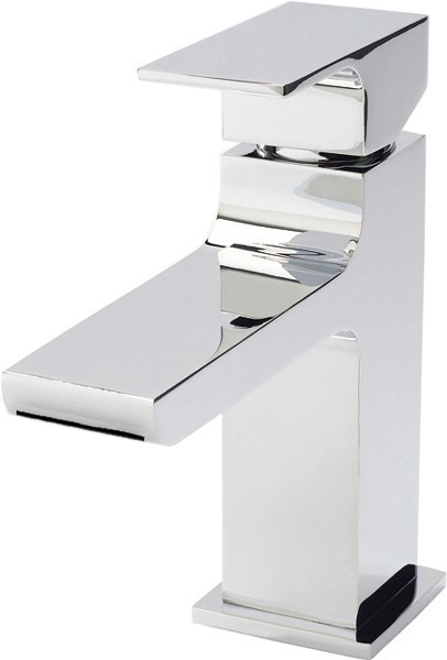 Additional image for Waterfall Mono Basin Mixer Tap & Push Button Waste.