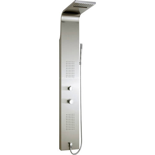 Additional image for Lava Shower Panel. Thermostatic.