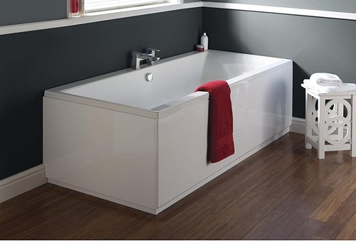 Additional image for Jetty Double Ended Eternalite Acrylic Bath. 700x1700mm.