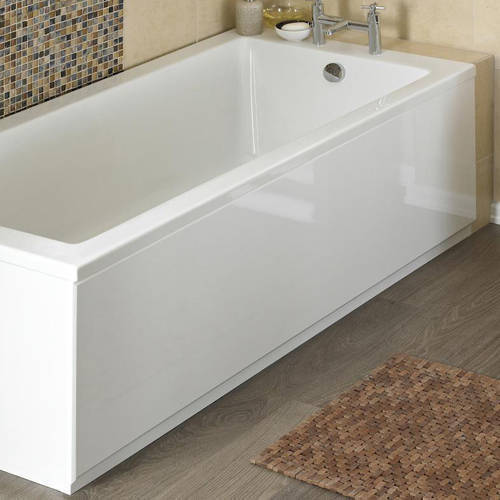 Additional image for Side Bath Panel (High Gloss White, 1500mm).