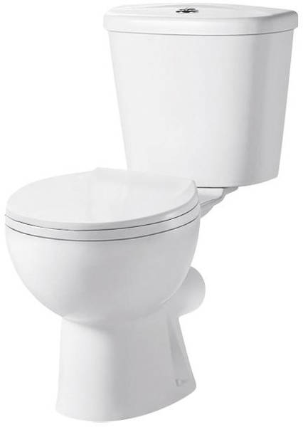 Additional image for Toilet & Corner Wall Hung Basin Pack.