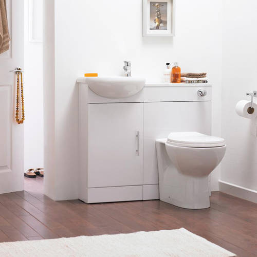 Additional image for Back To Wall Toilet Pan & Soft Close Seat.
