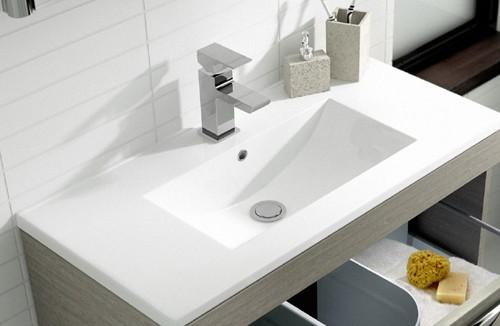 Additional image for 800mm Vanity Unit & 121 Basin (Blonde Oak).