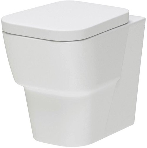 Additional image for Back to Wall Toilet Pan & Seat (BTW).