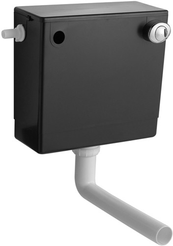 Additional image for Concealed Toilet Cistern With Dual Push Button Flush.