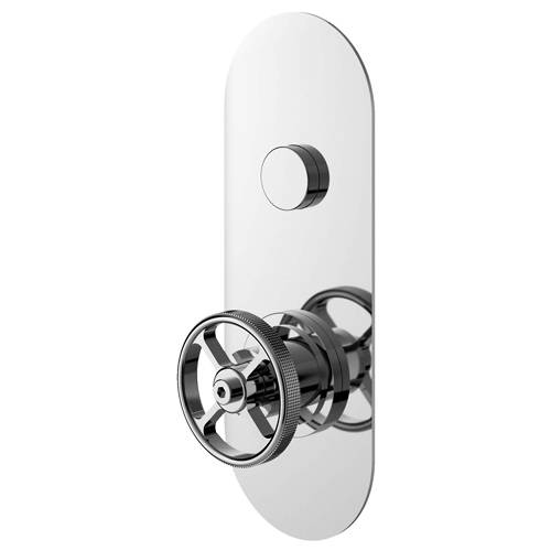 Additional image for Push Button Shower Valve With Industrial Handle (1 Outlet).