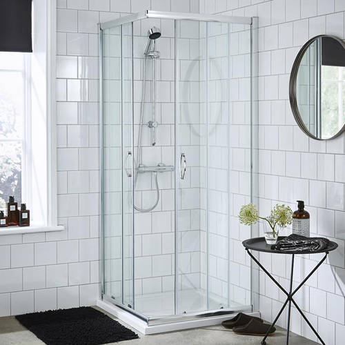 Corner Entry Shower Enclosure 760x760mm Premier