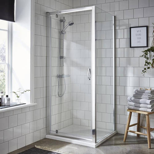 Additional image for Shower Enclosure With Pivot Door (700x700mm).