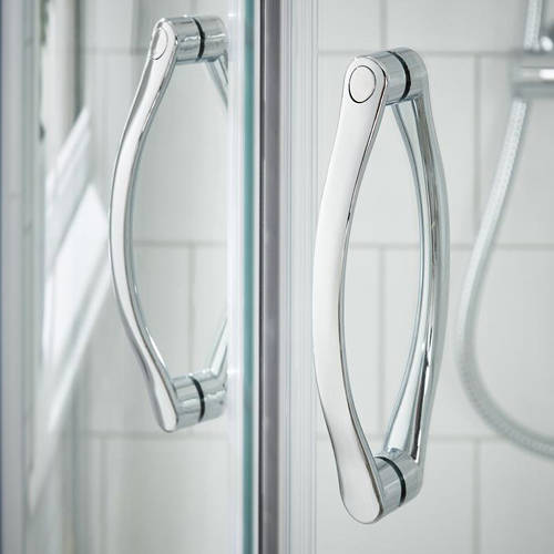 Additional image for Shower Enclosure With Sliding Door (1000x800mm).