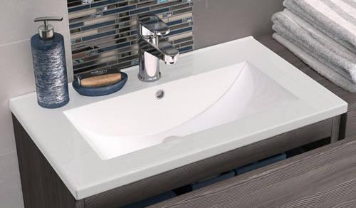 floor standing 600mm vanity unit basin type 2 grey avola hr urban u fmu526 nvm003. Black Bedroom Furniture Sets. Home Design Ideas