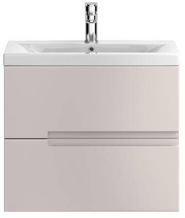 Additional image for Wall Hung 600mm Vanity Unit & Basin Type 2 (Cashmere).
