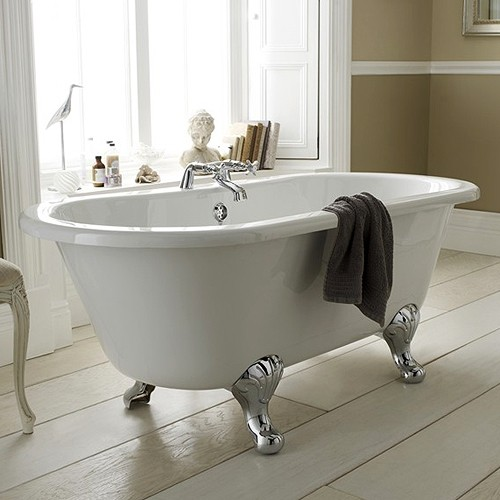 Additional image for Grosvenor 1700mm Double Ended Bath With Toilet & Basin.