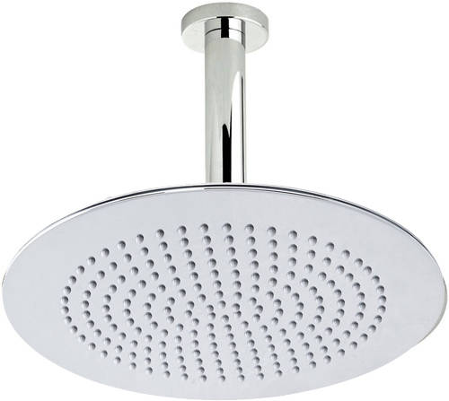Additional image for Round Shower Head With Ceiling Mounting Arm (300mm).