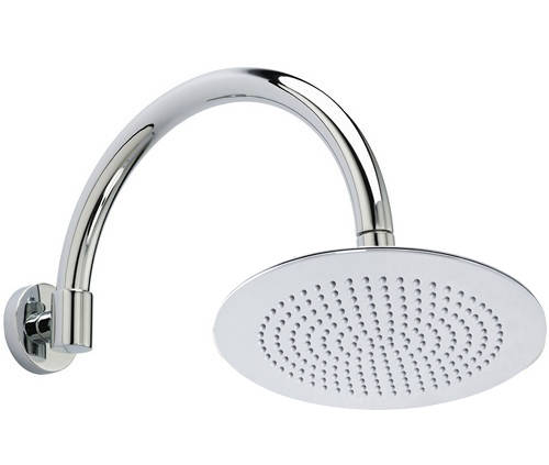 Additional image for Round Shower Head With Arm (300mm).