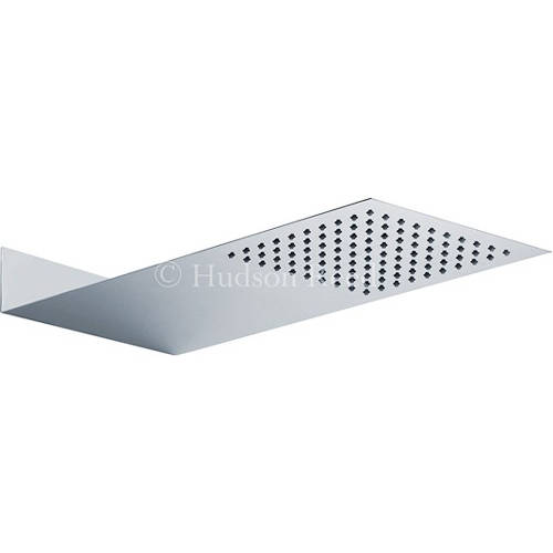 Additional image for Ultra Thin Fixed Shower Head. 400x200mm. 3mm Thick.