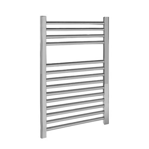 Additional image for Ladder Towel Radiator H700 x W500 (Straight, Chrome).