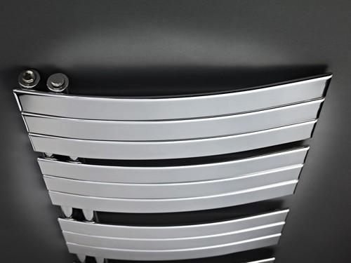 Additional image for Designer Towel Radiator. 1080x550 (Chrome).