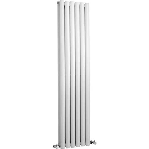 Additional image for Revive Radiator (White). 354x1500. 3926 BTU.