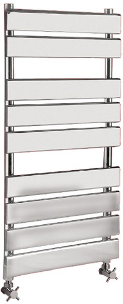 Additional image for Heated Towel Rail (Chrome). 500x950mm. 1078 BTU.