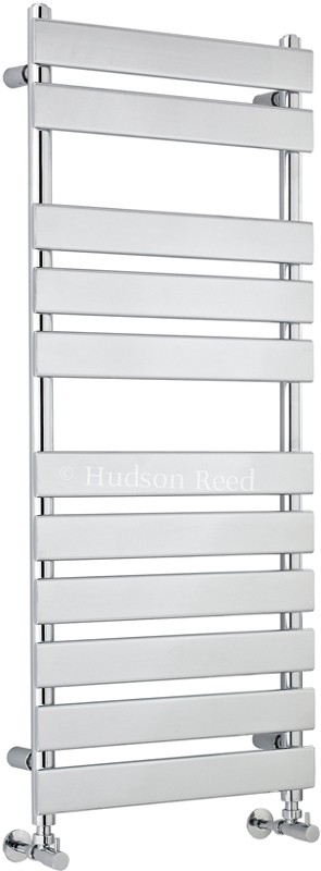 Additional image for Heated Towel Rail (Chrome). 500x1200mm. 1582 BTU.