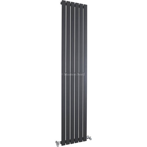 Additional image for Sloane Vertical Radiator (Anthracite). 354x1800mm.