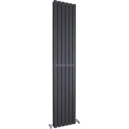 Additional image for Sloane Double Radiator (Anthracite). 354x1800mm.