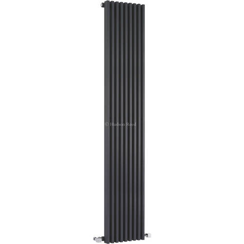Additional image for Parallel Designer Radiator (Anthracite). 342x1800mm.