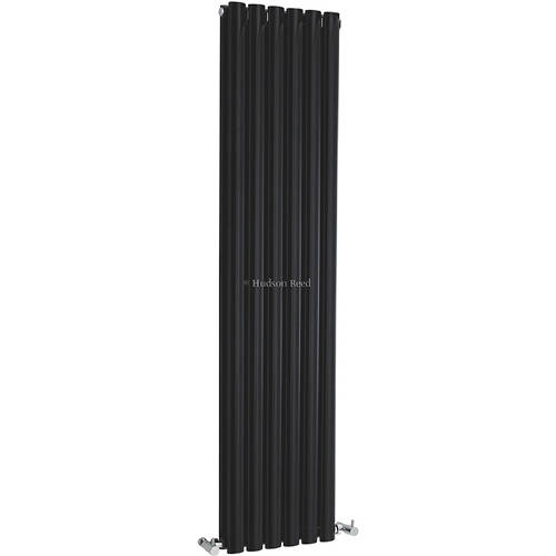 Additional image for Revive Radiator (Black). 354x1500mm. 4708 BTU.