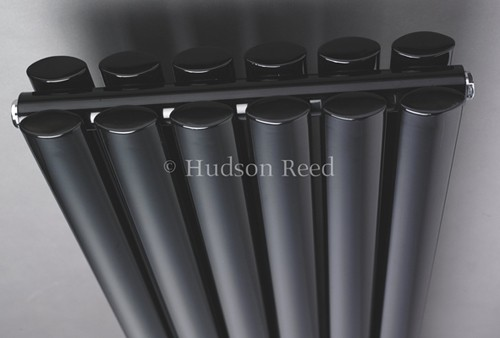 Additional image for Revive Radiator (Black). 1500x354mm. 3926 BTU.