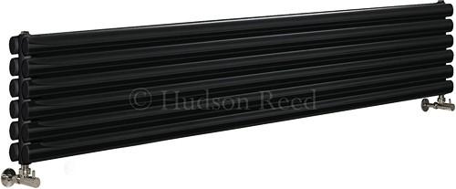 Additional image for Revive Radiator (Black). 1800x354mm. 5786 BTU.