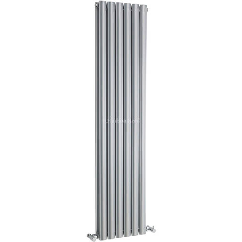 Additional image for Revive Radiator (Silver). 354x1500mm. 4708 BTU.