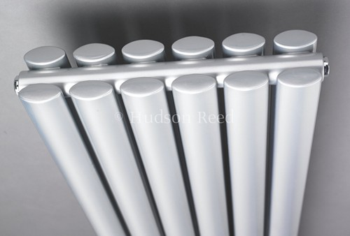 Additional image for Revive Radiator (Silver). 354x1500mm. 3926 BTU.