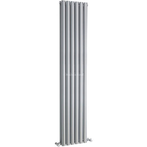 Additional image for Revive Radiator (Silver). 354x1800mm. 4677 BTU.