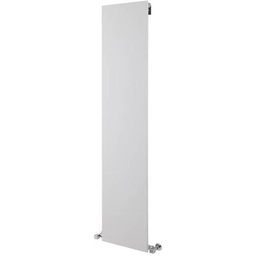 Additional image for Flat Panel Vertical Radiator (White). 1806x406mm.